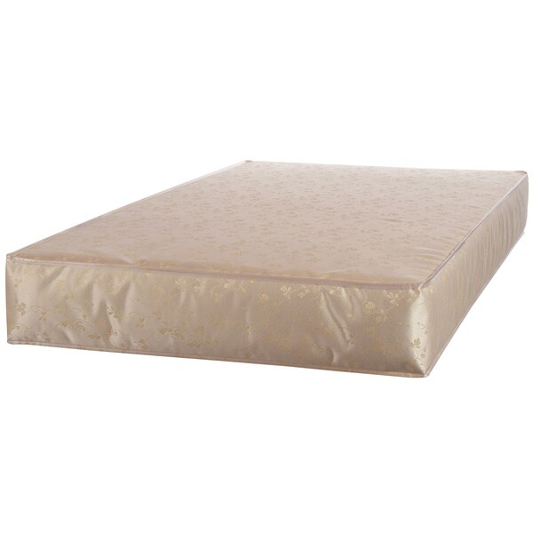 sealy soybean plush foamcore infant toddler crib mattress with waterproof cover free shipping today