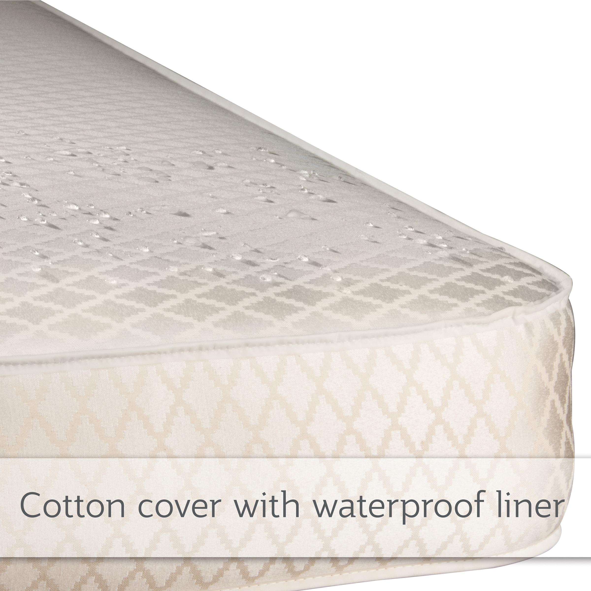 Sealy Soybean Plush Foam Core Crib Mattress With Waterproof Cover Gold Overstock 6022252