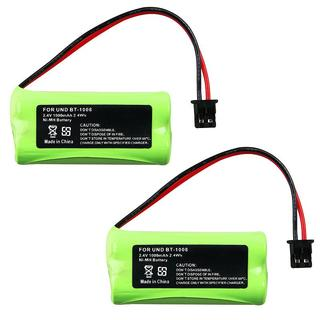 INSTEN Cordless Phone Battery for Uniden BT-1008 (Pack of 2)