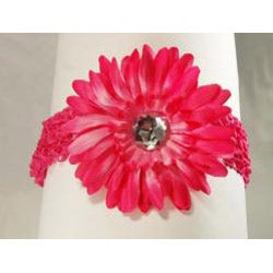 Three-in-one Large Flower Hair Clips (Pack of 12) - Thumbnail 2