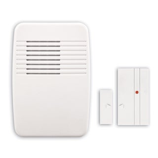 Heathco SL-7368-02 White Wireless Entry Alert Chime