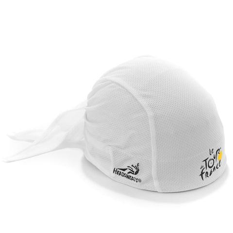 Tour de France Classic White Headwrap