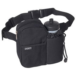 Everest 7.5-inch Insulated Waist Fanny Pack with Bottle Holder