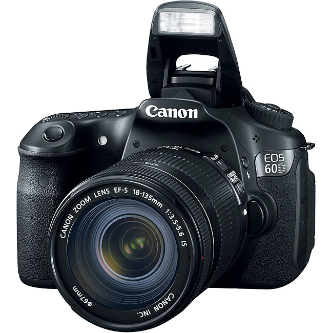 Canon EOS 60D EF-S 18MP Digital SLR Camera with 18-135mm IS Lens - Thumbnail 0