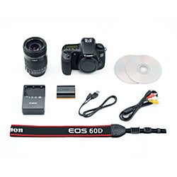 Canon EOS 60D EF-S 18MP Digital SLR Camera with 18-135mm IS Lens - Thumbnail 2
