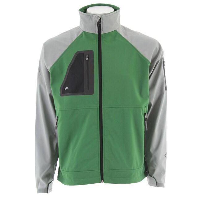 Stormtech Men's Aeros H2Xtreme Kiwi/ Grey Bonded Jacket