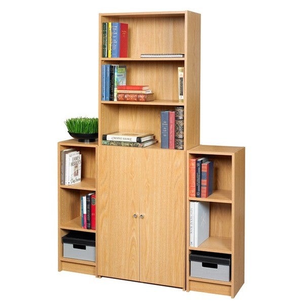 akadaHome Multifunctional 3-piece Bookcase Organizer