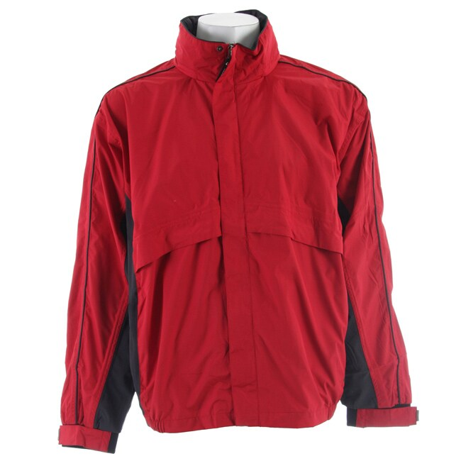 Stormtech Men's 'Trident' Red Microflex Rainshell Jacket