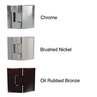 DreamLine Unidoor 39-inch Min to 40-inch Max Frameless Hinged Shower Door