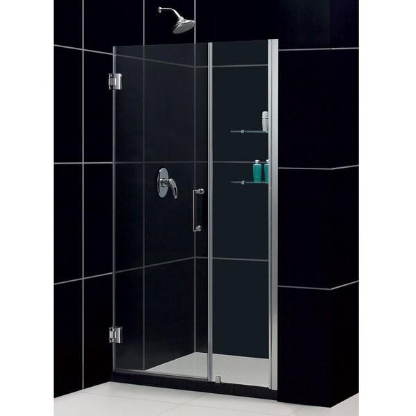 DreamLine Unidoor 41-inch Min to 42-inch Max Frameless Hinged Shower Door