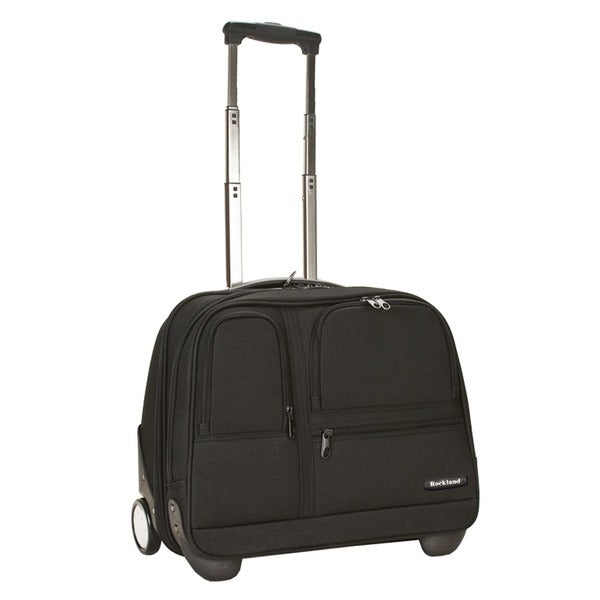 Rockland Mobile Office 16-inch Rolling Laptop Overnighter Case. Opens flyout.