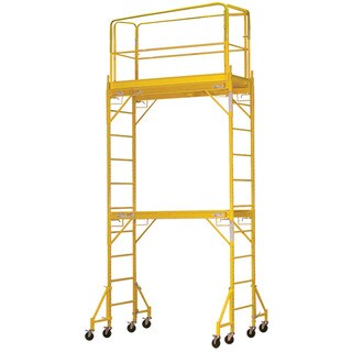 Rolling 2-story Scaffold Tower