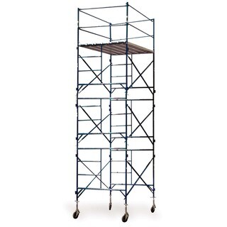 Buffalo Tools 3-story Casters Scaffold Tower