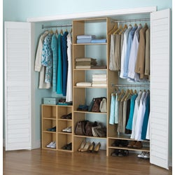 Akadahome 25-inch Wide Closet Tower - Thumbnail 1