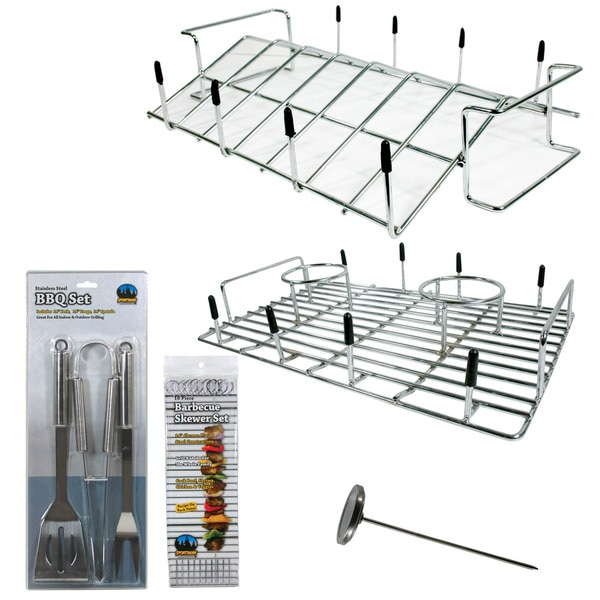 Buffalo Tools Chicken Cooker with Roast Rack and Tool