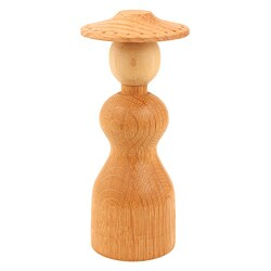 'Pretty Lady' Oak and Maple Jewelry Stand