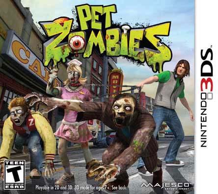 NinDS 3DS - Pet Zombies 3D