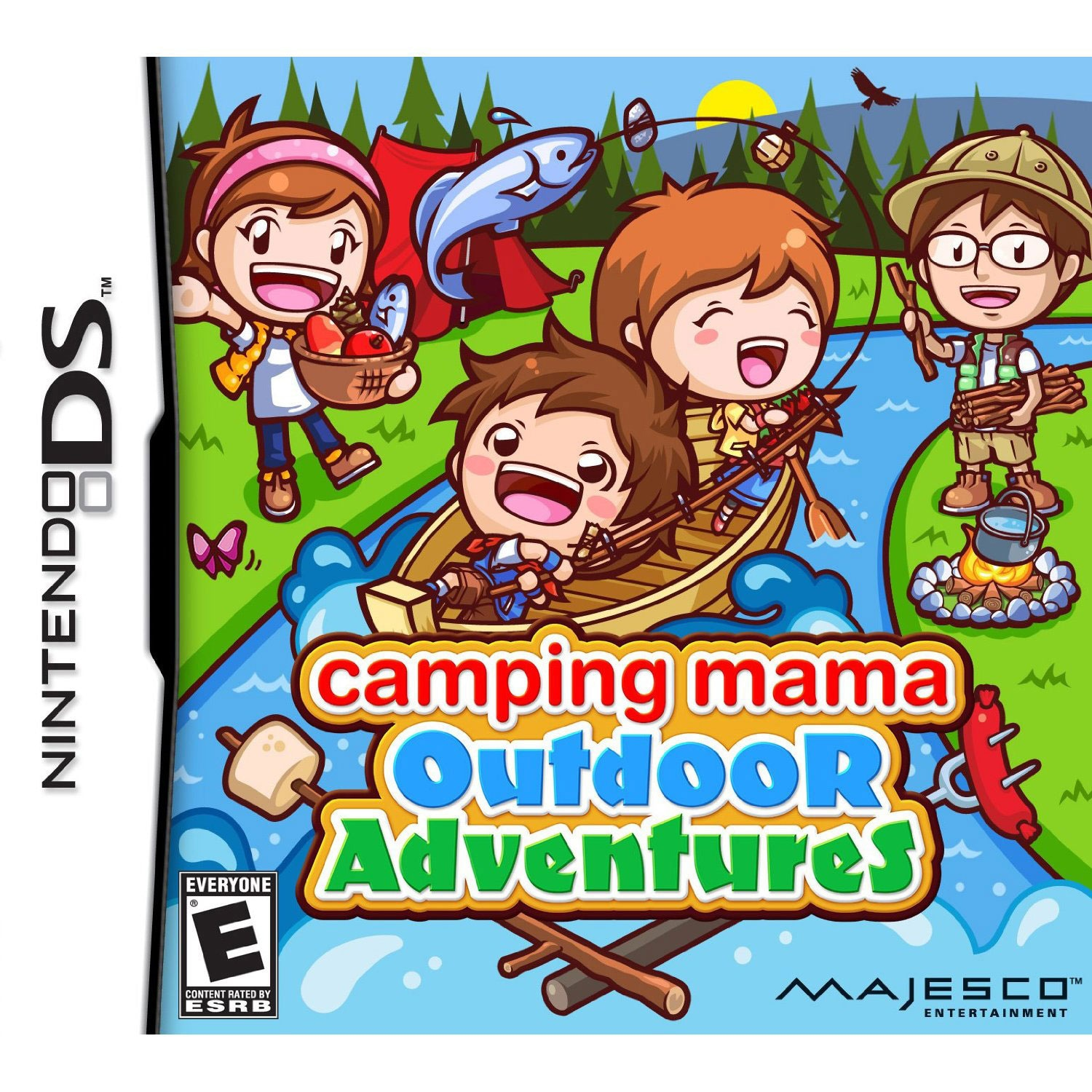 Nintendo DS - Camping Mama Outdoor Adventures - By Majesco