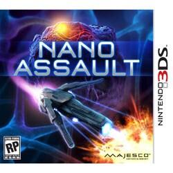Nintendo 3DS - Nano Assault 3DS - By Majesco
