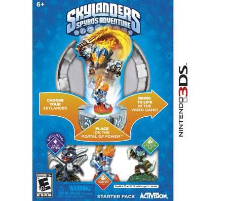 NinDs 3DS - Skylanders Spyro`s Adventure