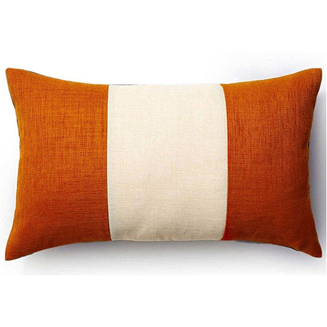 Rebel Pieces Vanilla/ Orange/ Chocolate 12x20-inch Pillow - Thumbnail 0