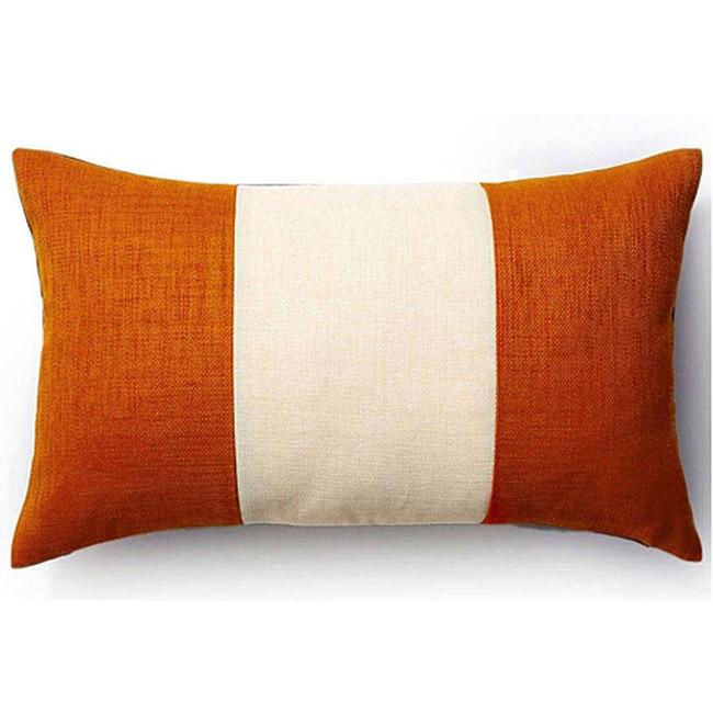 Rebel Pieces Vanilla/ Orange/ Chocolate 12x20-inch Pillow