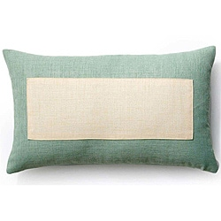 Rebel Window Vanilla/ Mint 12x20-inch Outdoor Pillow