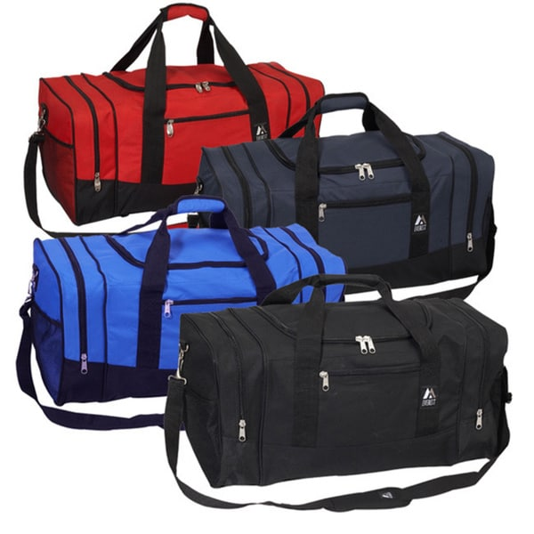 682778d519e0 Shop Everest 25-inch 600 Denier Polyester Sport Gear Duffel Bag ...