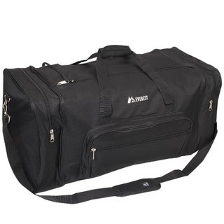 Everest 30-inch 600 Denier Polyester Classic Gear Duffel (Option: Black)