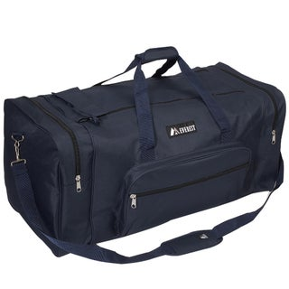 Everest 30-inch 600 Denier Polyester Classic Gear Duffel (Option: Navy)