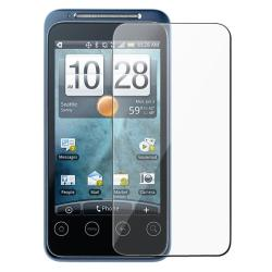 INSTEN Rubber Coated Phone Case Cover w/ Screen Protector for HTC EVO Shift 4G