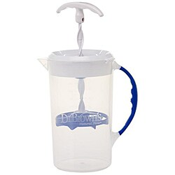 Formula mixer pitcher