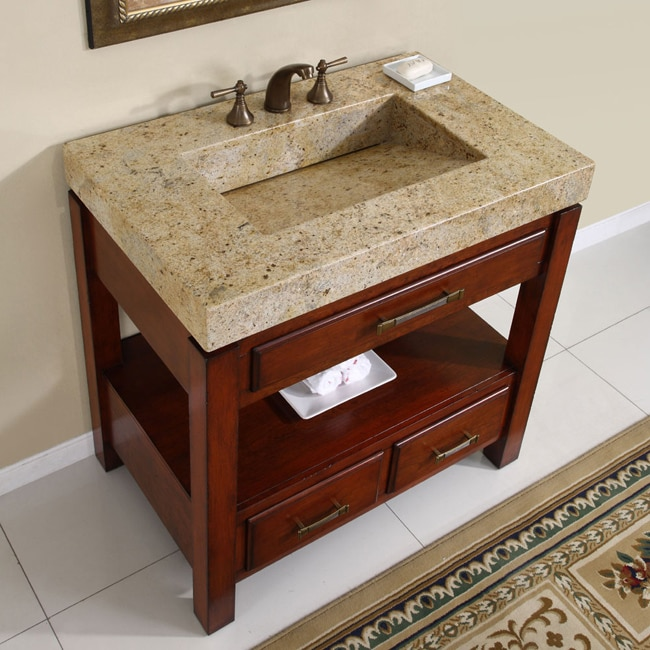 silkroad exclusive kashmir gold granite top single stone sink