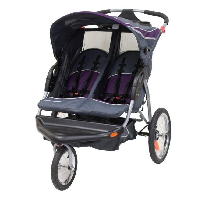 Shop Baby Trend Expedition Elixer Double Jogging Stroller ...