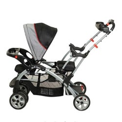Baby Trend Sit N Stand Plus Double Stroller in Millennium - Free ...