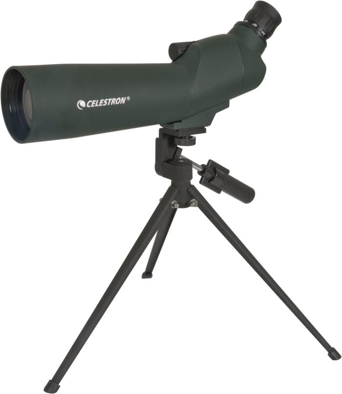 Celestron 60mm Zoom Refractor 45 Spotting Scope - Thumbnail 2