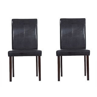 Warehouse of Tiffany Brown Dining Room Chairs (Set of 8)