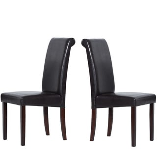 Warehouse of Tiffany Brown Dining Chairs (Set of 8)