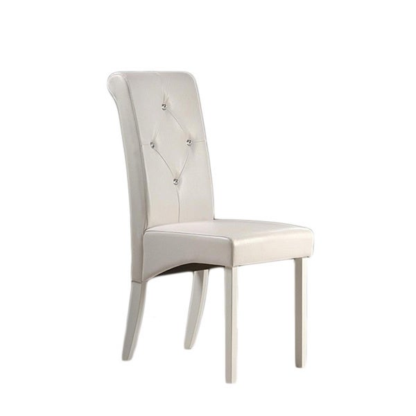 Attractive Warehouse Of Tiffany White Dining Room Chairs (Set Of 2)   Free Shipping  Today   Overstock.com   13708665