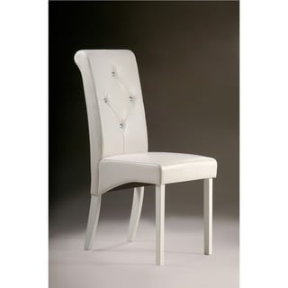 warehouse of tiffany white dining room chairs set of 2