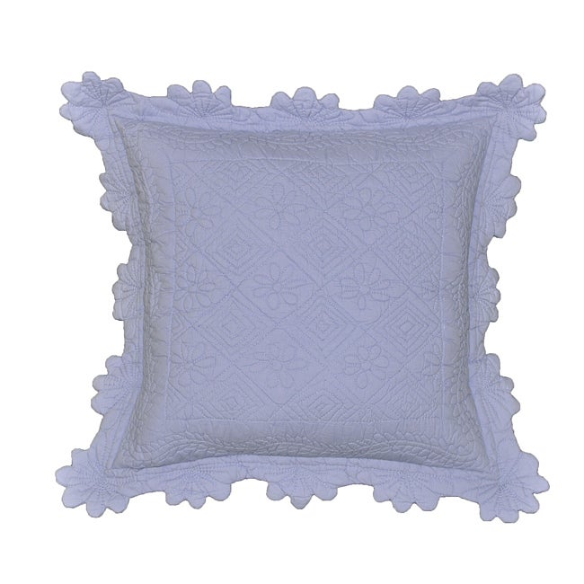 Celie Cotton Scalloped Decorative Pillow