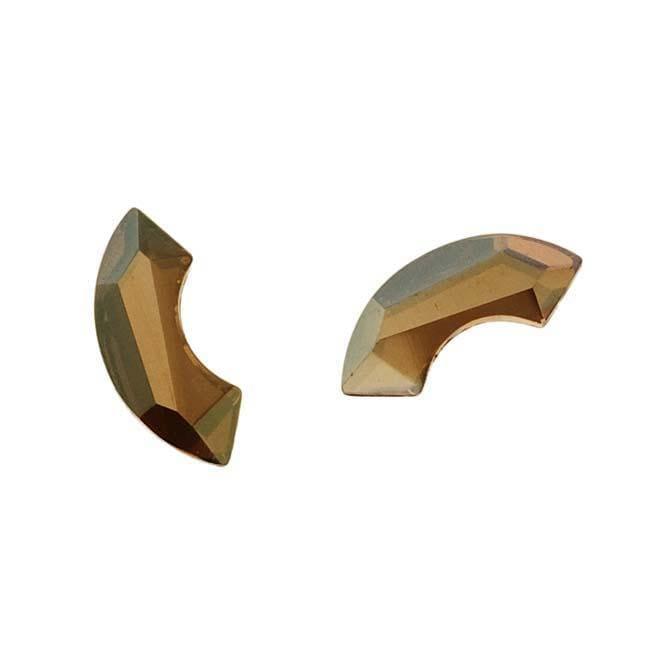 Crystal Bronze Shade 8mm Austrian Crystal Flatback Rhinestones (Pack of 4)