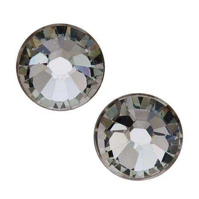 Beadaholique Black Diamond ss40 Crystal Flatback Rhinestones (Pack of 8)