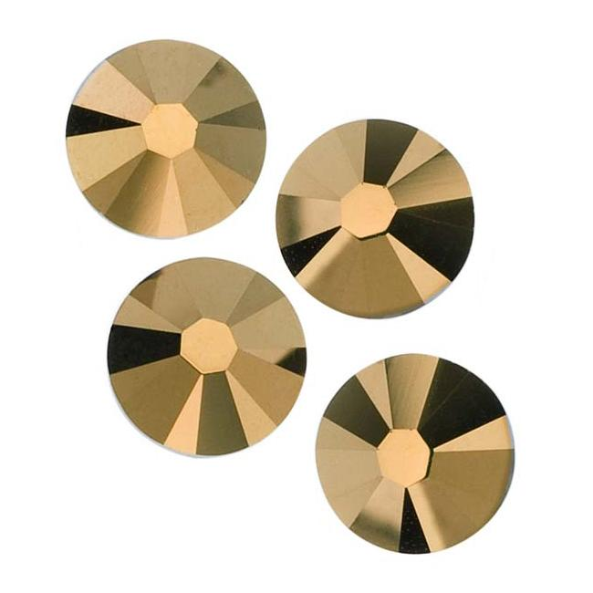 Beadaholique Crystal Dorado ss30 Crystal Flatback Rhinestones (Pack of 25)