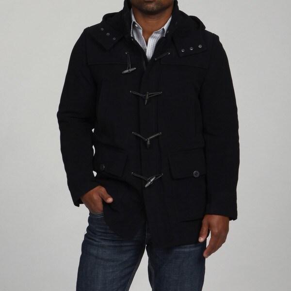 Andrew Marc Men's Field Duffle Wool Duffle Coat