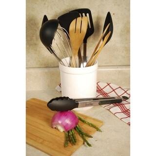 Kitchen Utensil 10-piece Set with Ceramic Holder