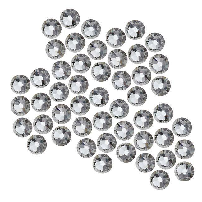 Beadaholique Black Diamond ss20 Crystal Flatback Rhinestones (Pack of 50)