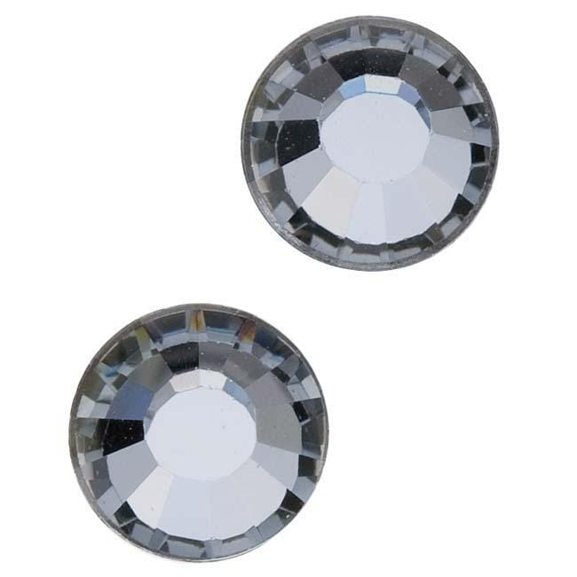 Beadaholique Crystal Silver Night ss40 Crystal Flatback Rhinestones (Pack of 8)