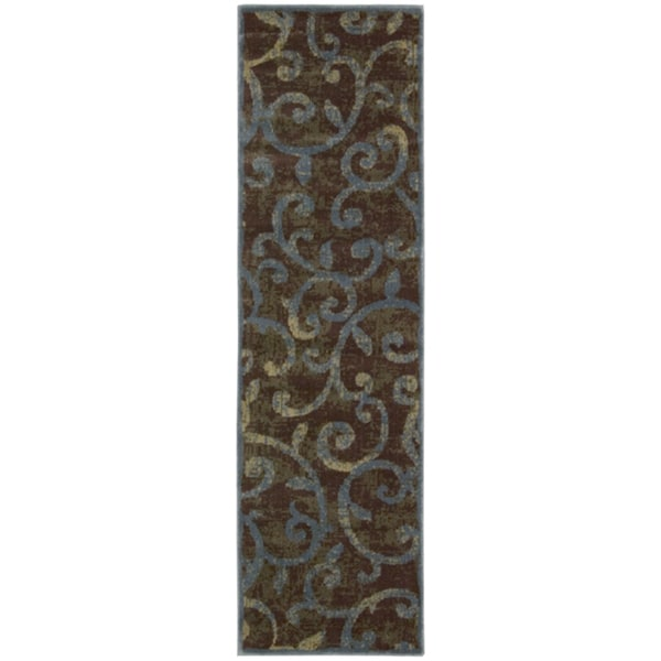 """Nourison Expressions Multicolor Scroll Rug (2' x 5'9) - 2' x 5'9"""""""