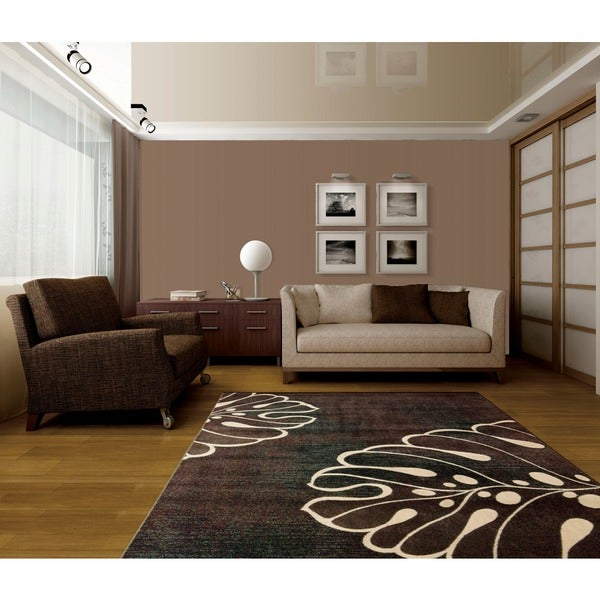 Nourison Expressions Multi Brown Rug (2' x 2'9)